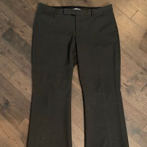 GAP Charcoal Gray Dress Pant, Size 18r